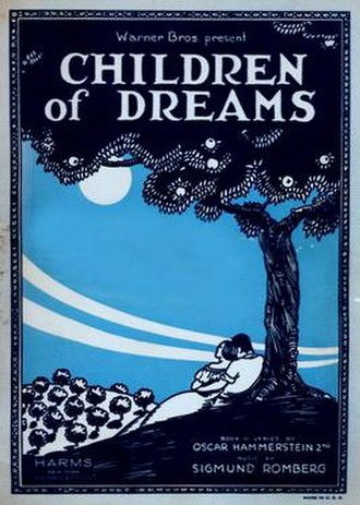Children of Dreams - thatrical release poster