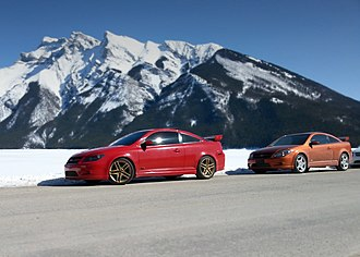 Chevrolet Cobalt SS - Image: Cobalt SS SC and TC in Mountains
