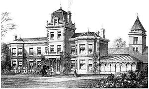 Collingtree Park - Collingtree Grange, by the architect 1879