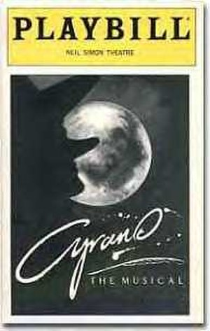 Cyrano: The Musical - Original Broadway Playbill