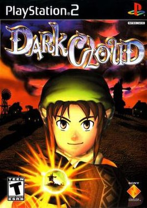 Dark Cloud - Image: Dark Cloud PS2 Game cover