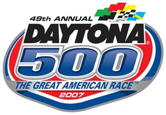 2007 Daytona 500 - Image: Daytona 5002007