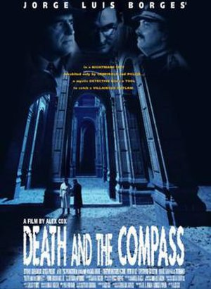 Death and the Compass (film) - Theatrical release poster