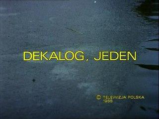 <i>Dekalog: One</i> 1988 Film directed by Krzysztof Kieślowski