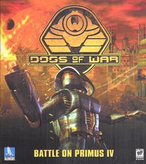 Dogs of War (2000 video game) - North American boxart