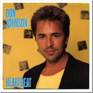 Heartbeat (Don Johnson song) - Image: Don Johnson Heartbeat single cover