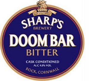 Sharp's Brewery - Doom Bar pump logo