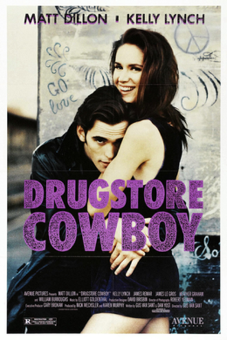 Drugstore Cowboy - Theatrical release poster