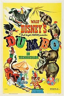 1941 American animated film produced by Walt Disney