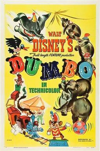Dumbo - Original theatrical release poster