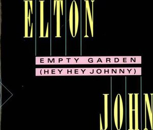 Empty Garden (Hey Hey Johnny) - Image: EGHHJ45cover