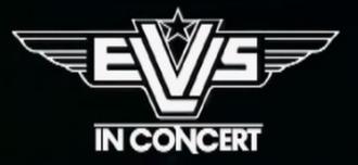 Elvis in Concert - On-screen logo