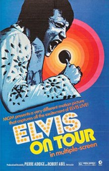 Image result for Elvis on tour