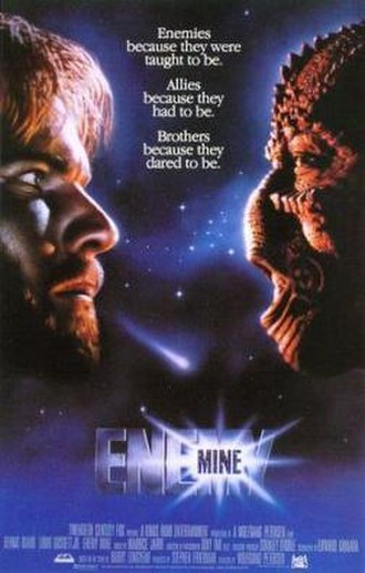 Enemy Mine (film) - Theatrical release poster