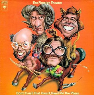 Don't Crush That Dwarf, Hand Me the Pliers - Image: FST Don't Crush That Dwarf album cover