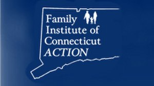 Family Institute of Connecticut - Logo of Family Institute of Connecticut Action.