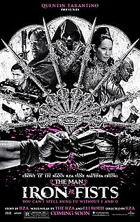 <i>The Man with the Iron Fists</i> 2012 film directed by RZA
