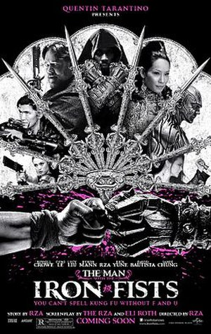 The Man with the Iron Fists - Theatrical release poster