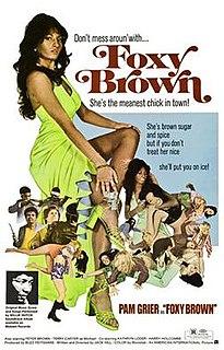<i>Foxy Brown</i> (film) 1974 film by Jack Hill