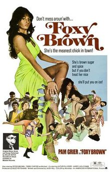 pam young brown Foxy grier