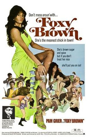 Foxy Brown (film) - Movie Poster for Foxy Brown