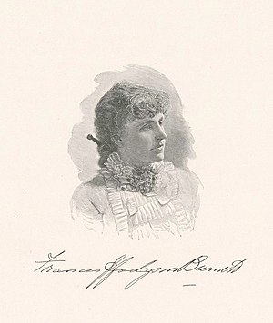 Frances Hodgson Burnett - Burnett as a young woman