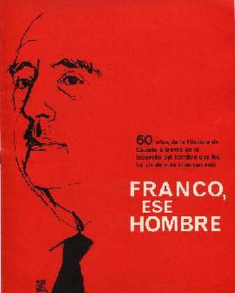 Franco, ese hombre - Image: Franco ese hombre