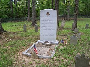 Frederick Hambright - Frederick Hambright gravesite in Grover, North Carolina. Restoration and maintenance of Col. Hambright's grave and the cemetery where it is located spearheaded by Mr. Ralph Fain Hambright. February 21, 1937-November 10, 2007.