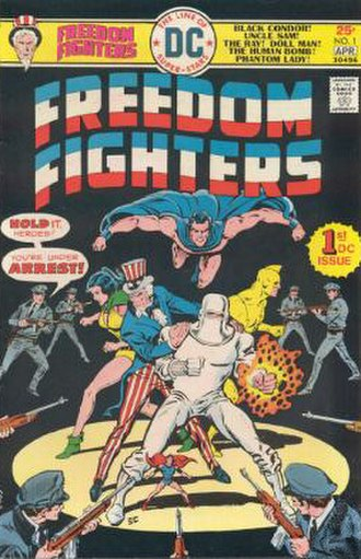 Freedom Fighters (comics) - Image: Freedom Fighters 1