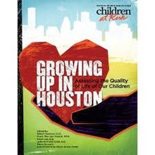 Cover of Growing Up in Houston 2010.