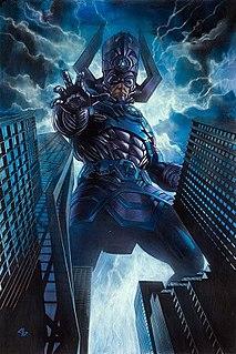 Galactus comic book character
