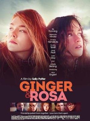 Ginger & Rosa - Image: Ginger & Rosa Poster