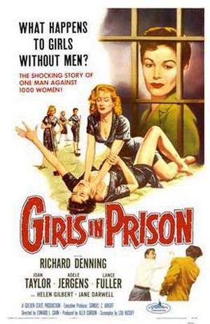 Girls in Prison - Theatrical release poster by Albert Kallis