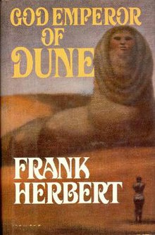 God Emperor of Dune-Frank Herbert (1981) First edition.jpg