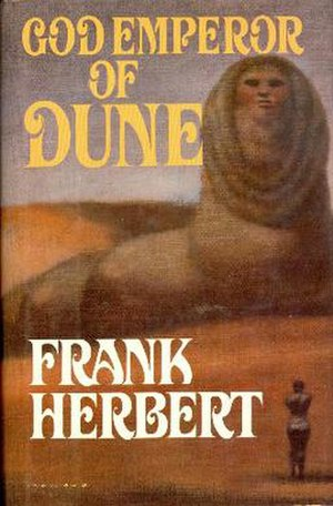 God Emperor of Dune - First US edition
