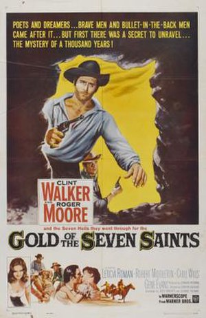 Gold of the Seven Saints - Theatrical release poster