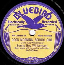 Good Morning, School Girl single cover.jpg