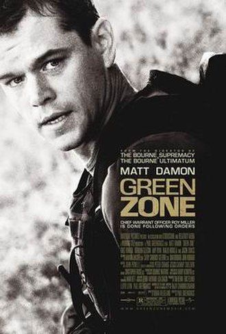 Green Zone (film) - Theatrical release poster
