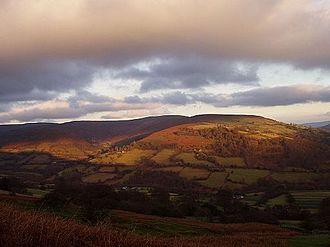 Grwyne Fawr - The southern part of the Grwyne Fechan valley in the Black Mountains