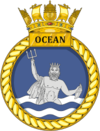 HMS Ocean L12 badge.png