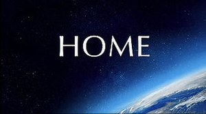 Home (2009 film) - The film's title card