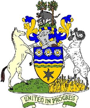 Hambleton - Image: Hambleton arms