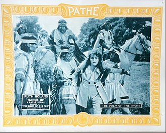 """Hands Up (serial) - Lobby card for episode 1-""""The Bride of the Sun"""""""