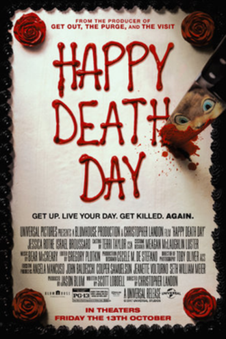 Happy Death Day - Theatrical release poster
