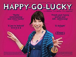 Happy-Go-Lucky - Theatrical release poster