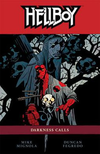 Hellboy: Darkness Calls - Trade Paperback Cover