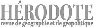 Hérodote - Image: Herodote (Journal) logo