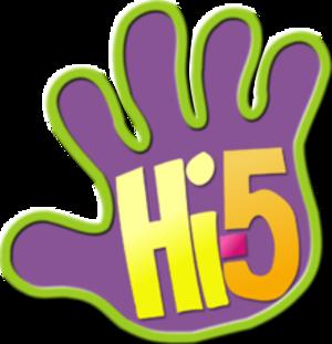 Hi-5 (American band) - Official Hi-5 logo