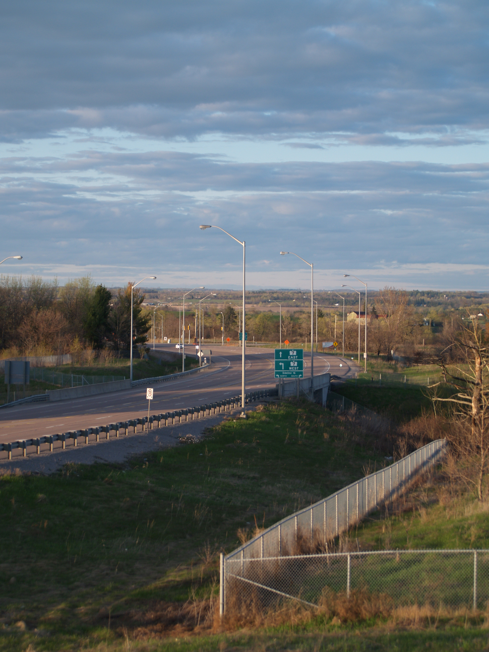 Highway 7 and 407
