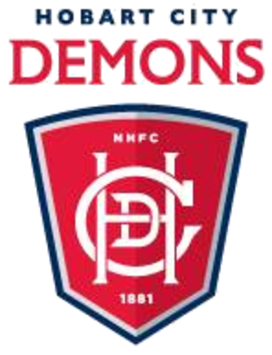 Hobart City Football Club - Image: Hobart city demons logo